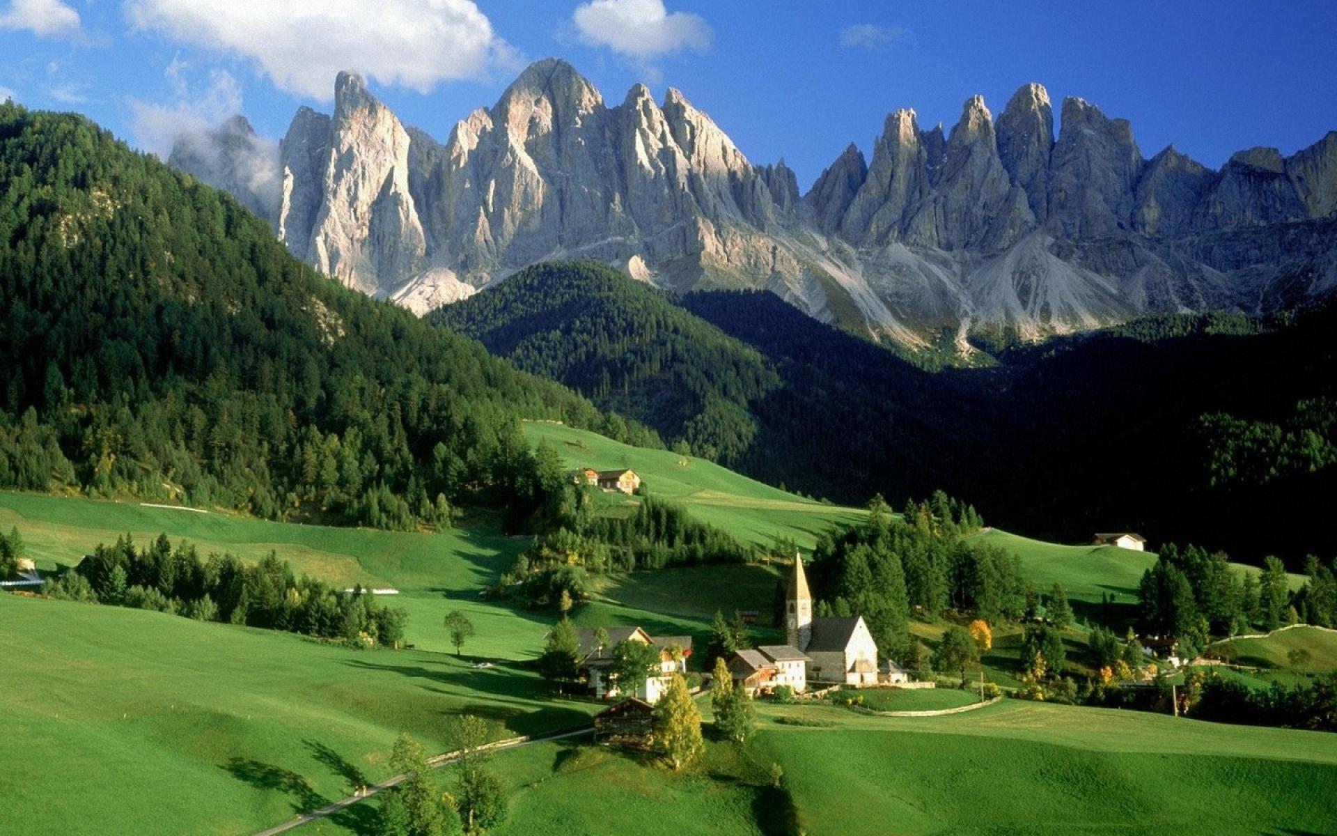 Val Di Funes Dolomites Italy