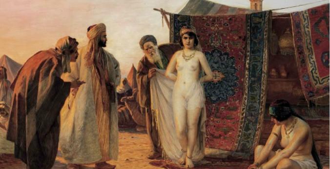 Молодые девушки особо ценились на крымском работорговческом рынке.